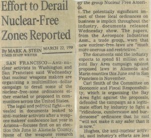 Clippings from the Beginning of the Roll. November 28, 1988 to November 18, 1990